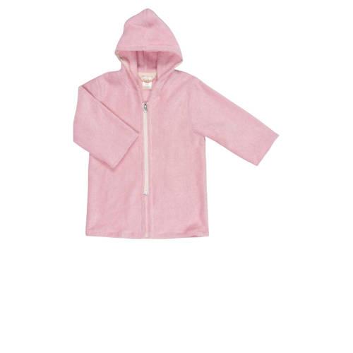 Koeka badjas met rits Venice baby pink-86-92