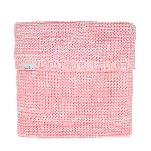 Koeka Wiegdeken Porto Tea Rose-B.Pink-White