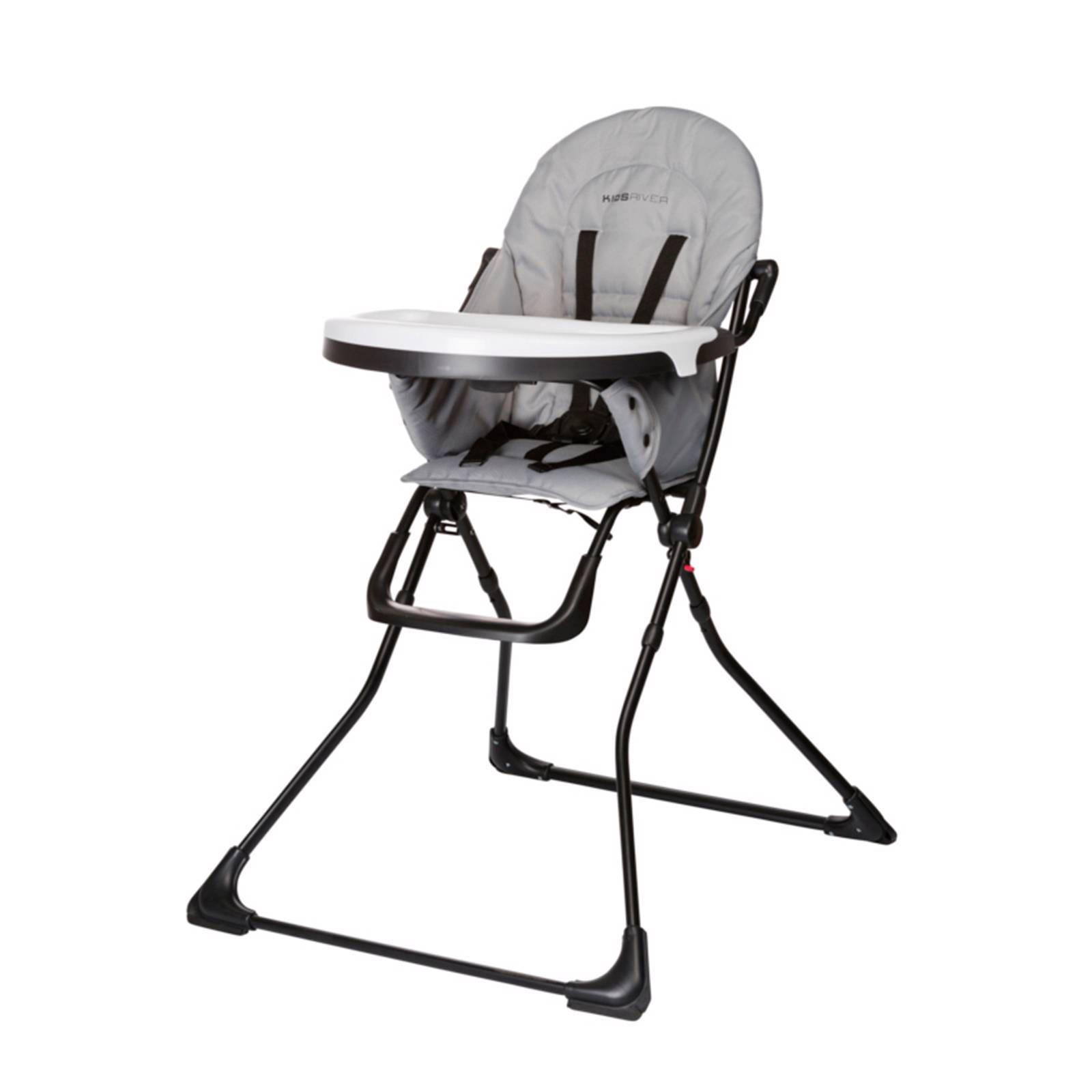 Houten Inklapbare Kinderstoel.Kidsriver Viola 2 Kinderstoel Grijs Wehkamp