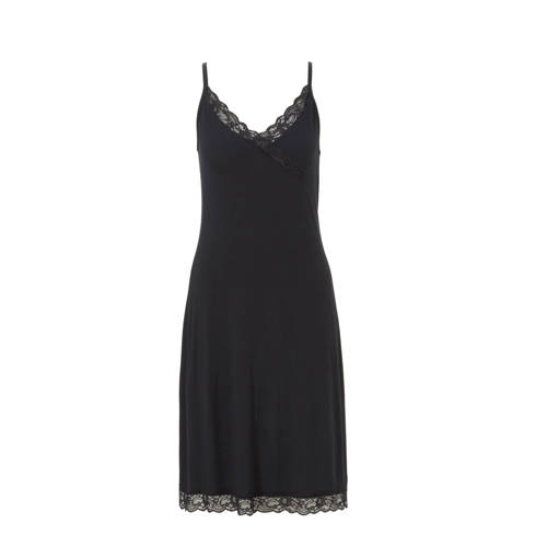 whkmp's own slipdress met kant zwart