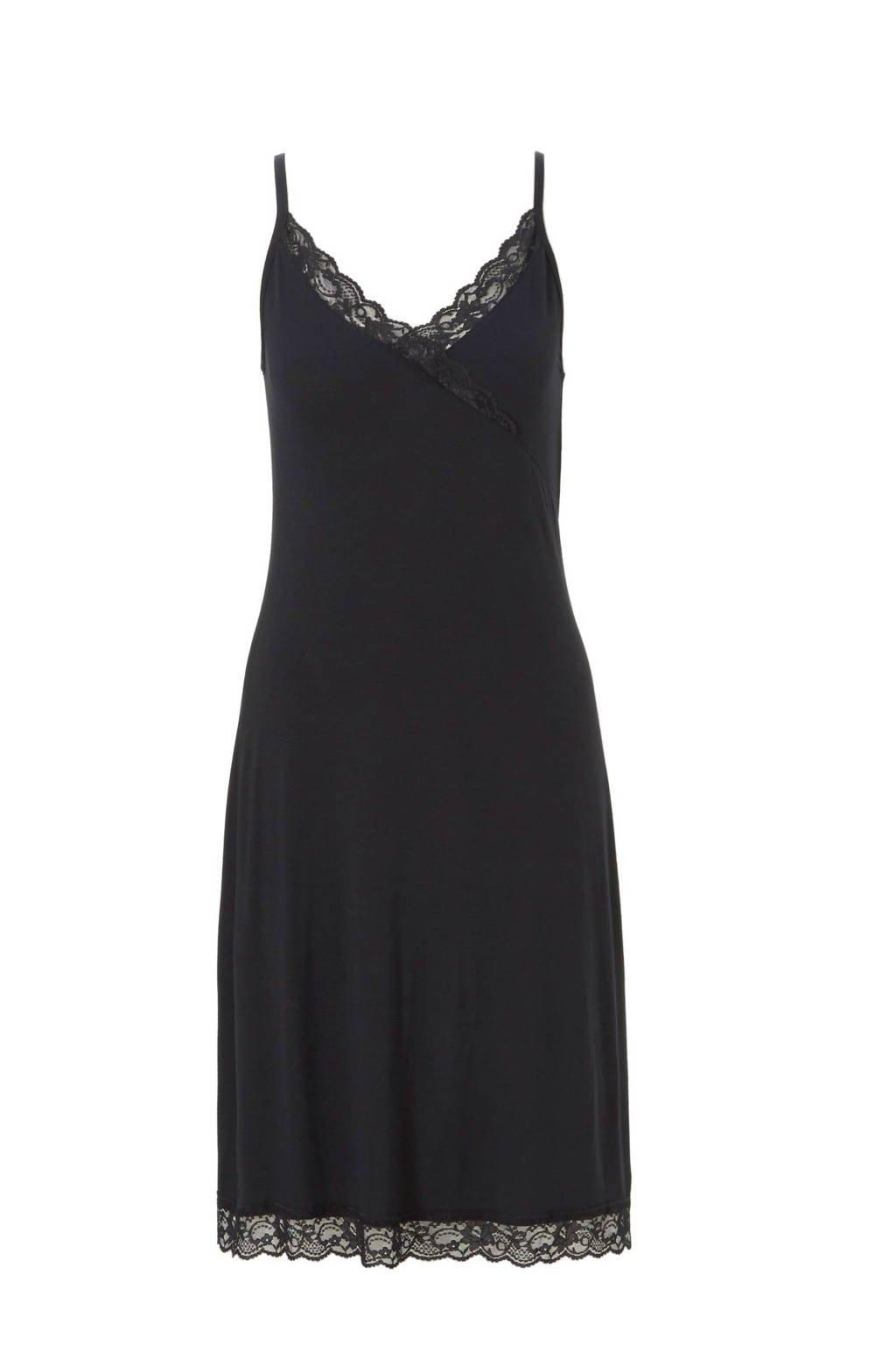 whkmp's own slipdress, Zwart