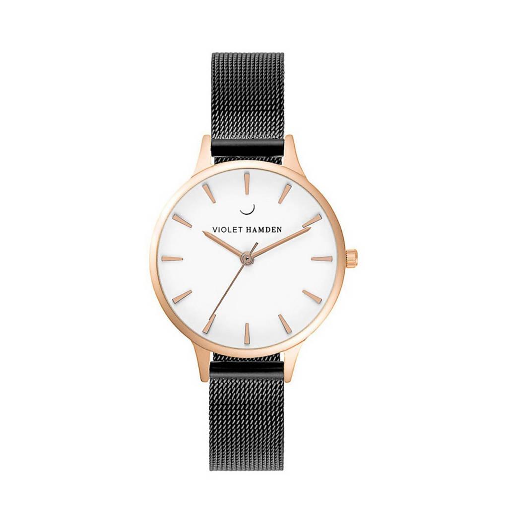 Violet Hamden Nowness horloge - VH01025, Zwart