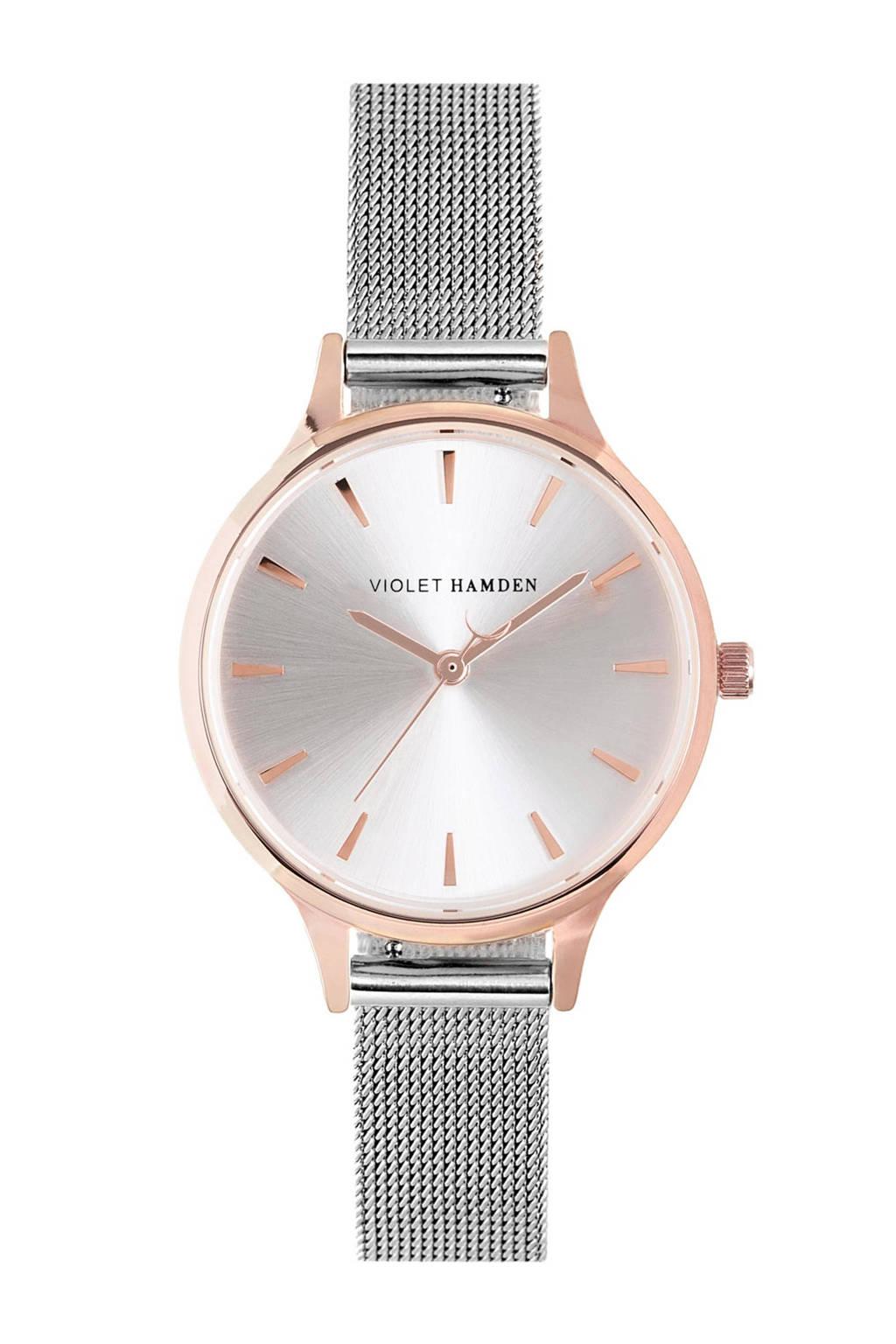 Violet Hamden Nowness horloge - VH01009, Rosé