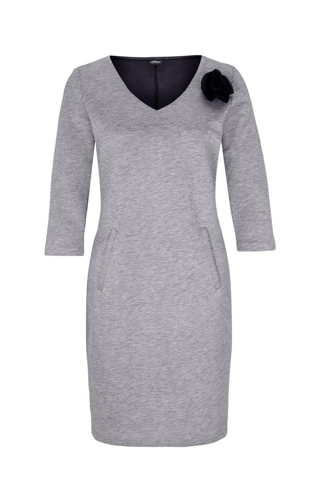s.Oliver BLACK LABEL jurk, Grijs