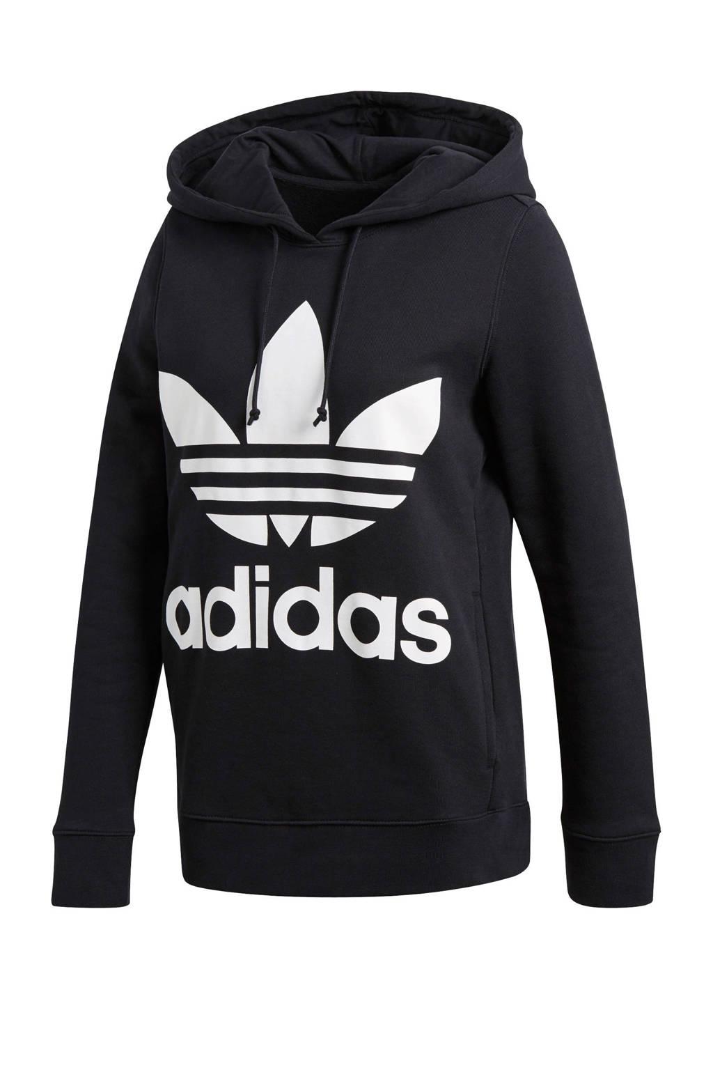 c2a3285c644 adidas originals hoodie, Zwart/wit