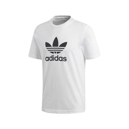 adidas-t-shirt Trefoil in wit