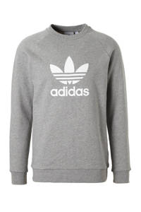 adidas Originals   Adicolor sweater, Grijs melange/wit