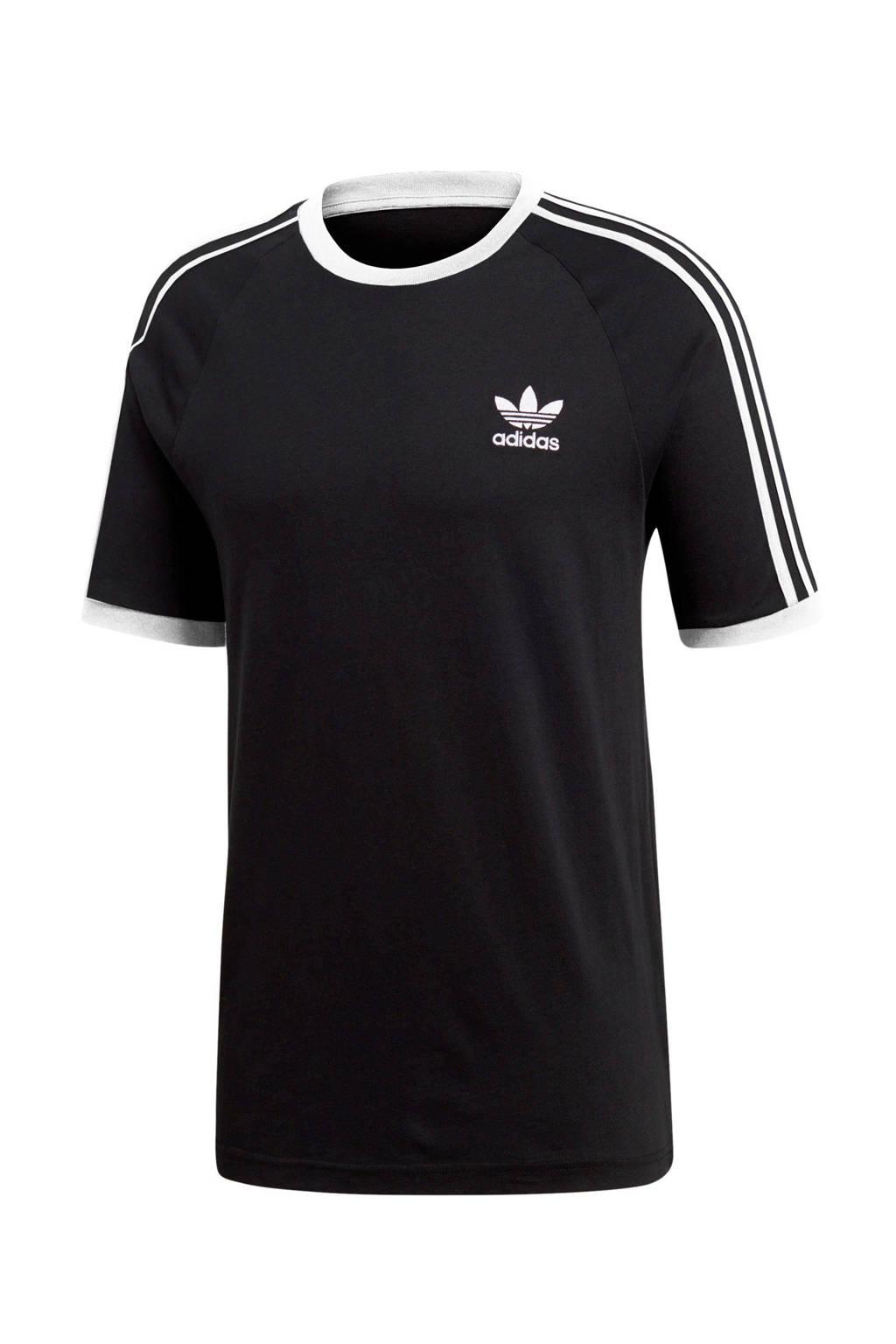 adidas Originals Adicolor T-shirt, Zwart/wit