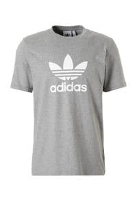 adidas Originals Adicolor T-shirt, Grijs melange/wit