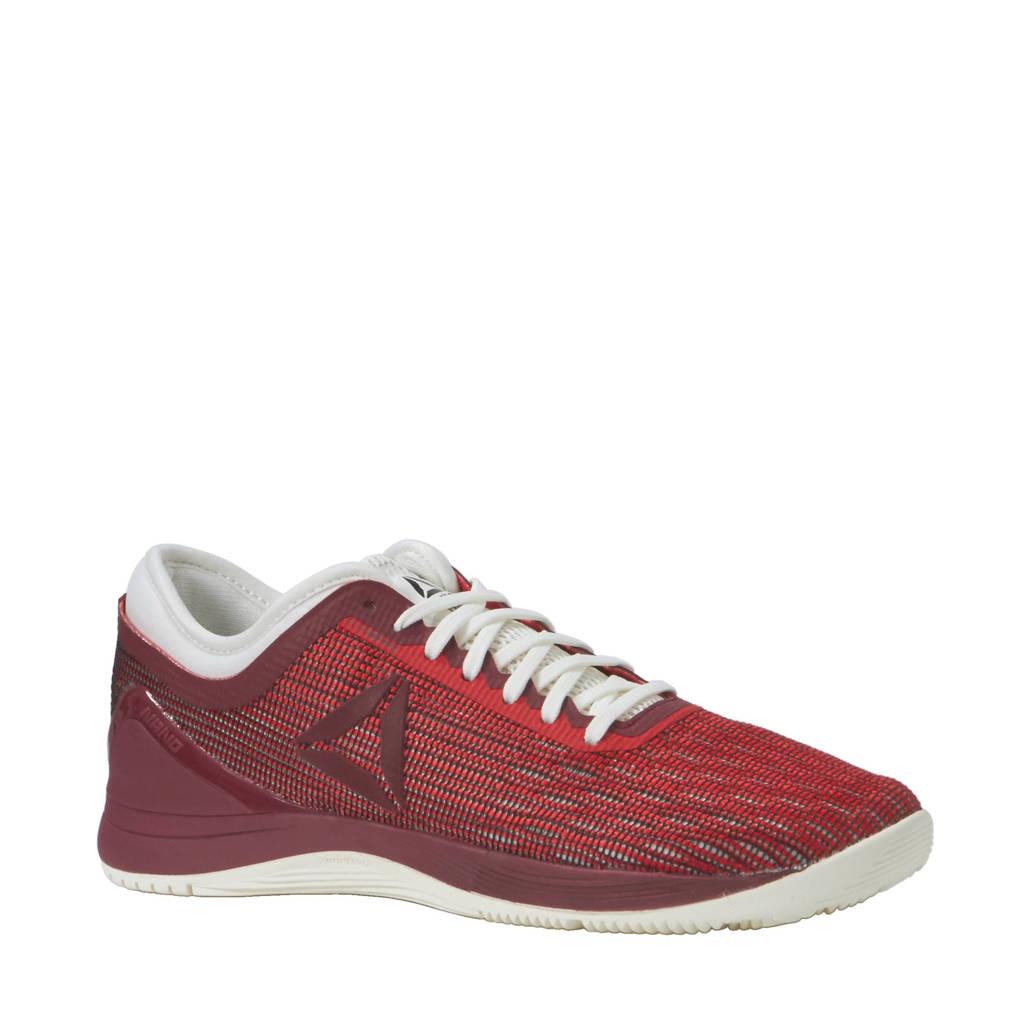 56ec649d6c0 Reebok Fitness R CrossFit Nano 8.0 fitness schoenen, rood/ wit