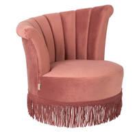 Dutchbone Flair fauteuil, Roze