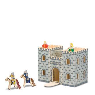 houten opvouwbaar kasteel