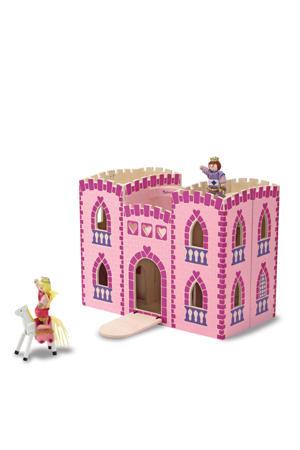 houten opvouwbaar prinsessenkasteel
