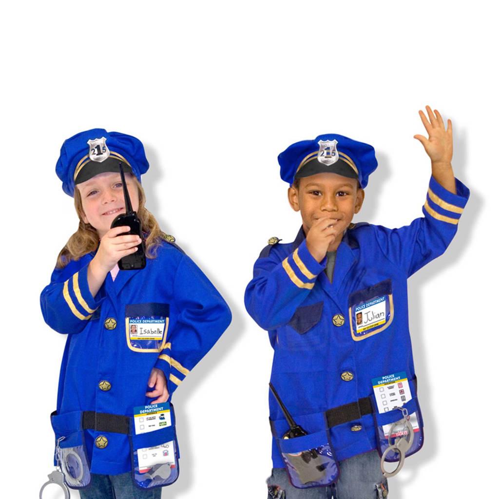 Melissa & Doug politieagent verkleedset