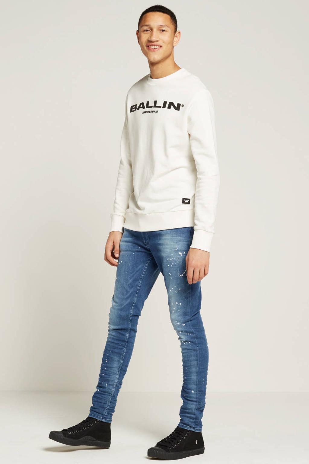 Ballin by Purewhite sweater, Ecru/zwart