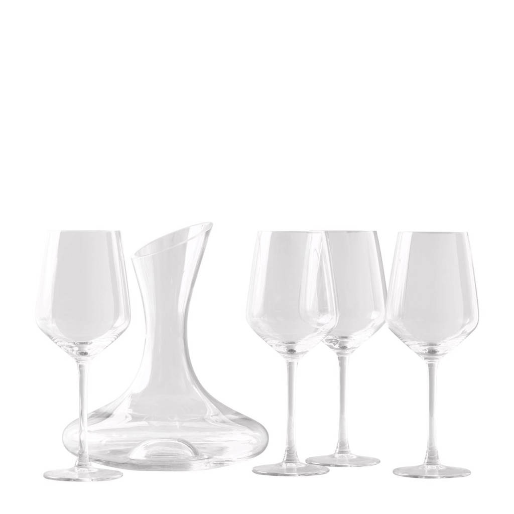 Royal Leerdam Bonum glazenset (5-delig), Transparant