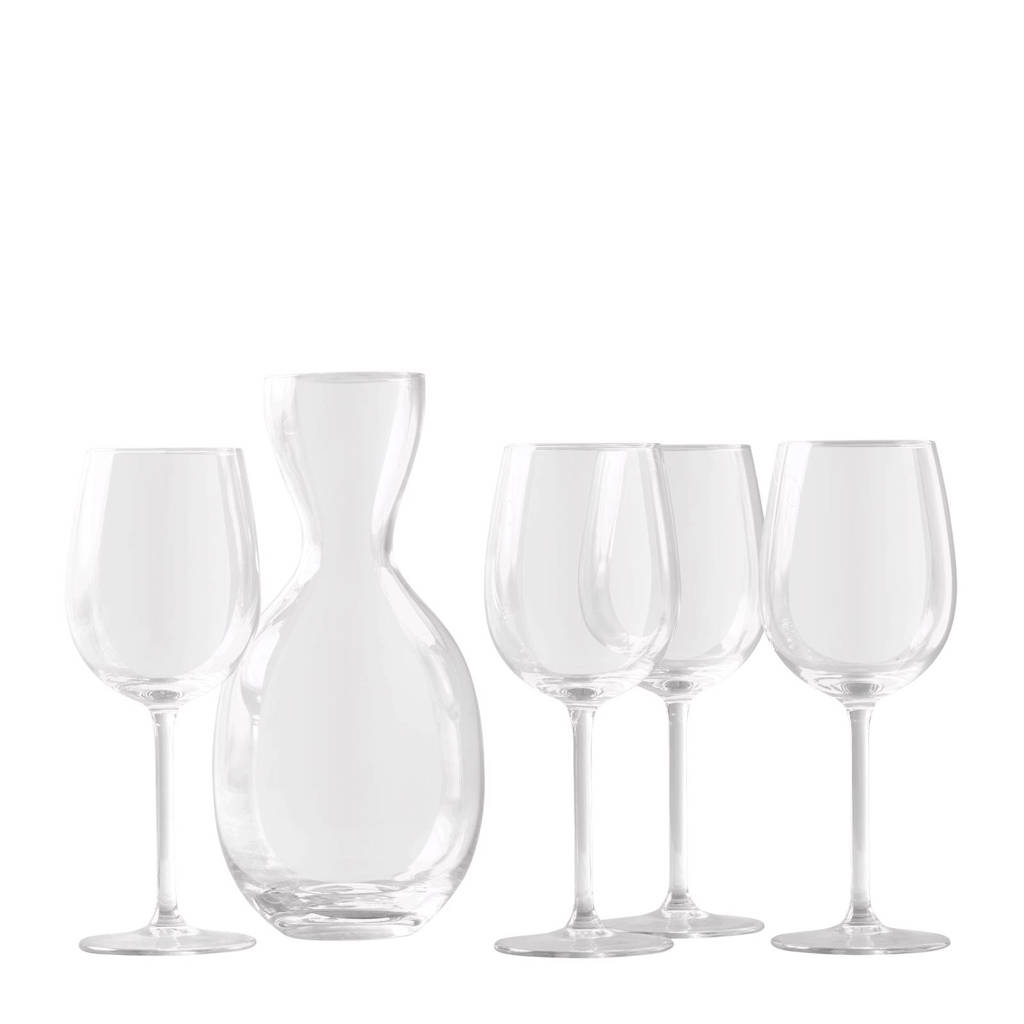 Royal Leerdam Podium glazenset (5-delig), Transparant