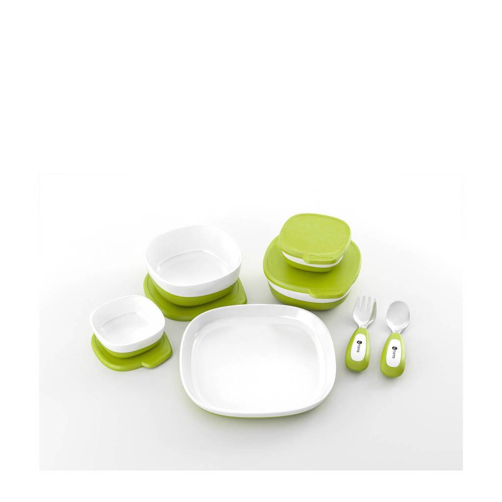 4moms Highchair kinderstoel accessoireset, Groen/wit