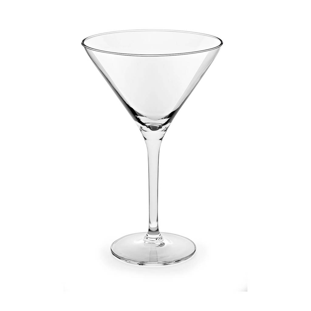 Royal Leerdam Time to Party martiniglas (set van 12), Transparant