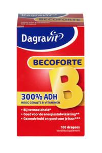 Dagravit Vitamine tabletten Becoforte - 100 dragees