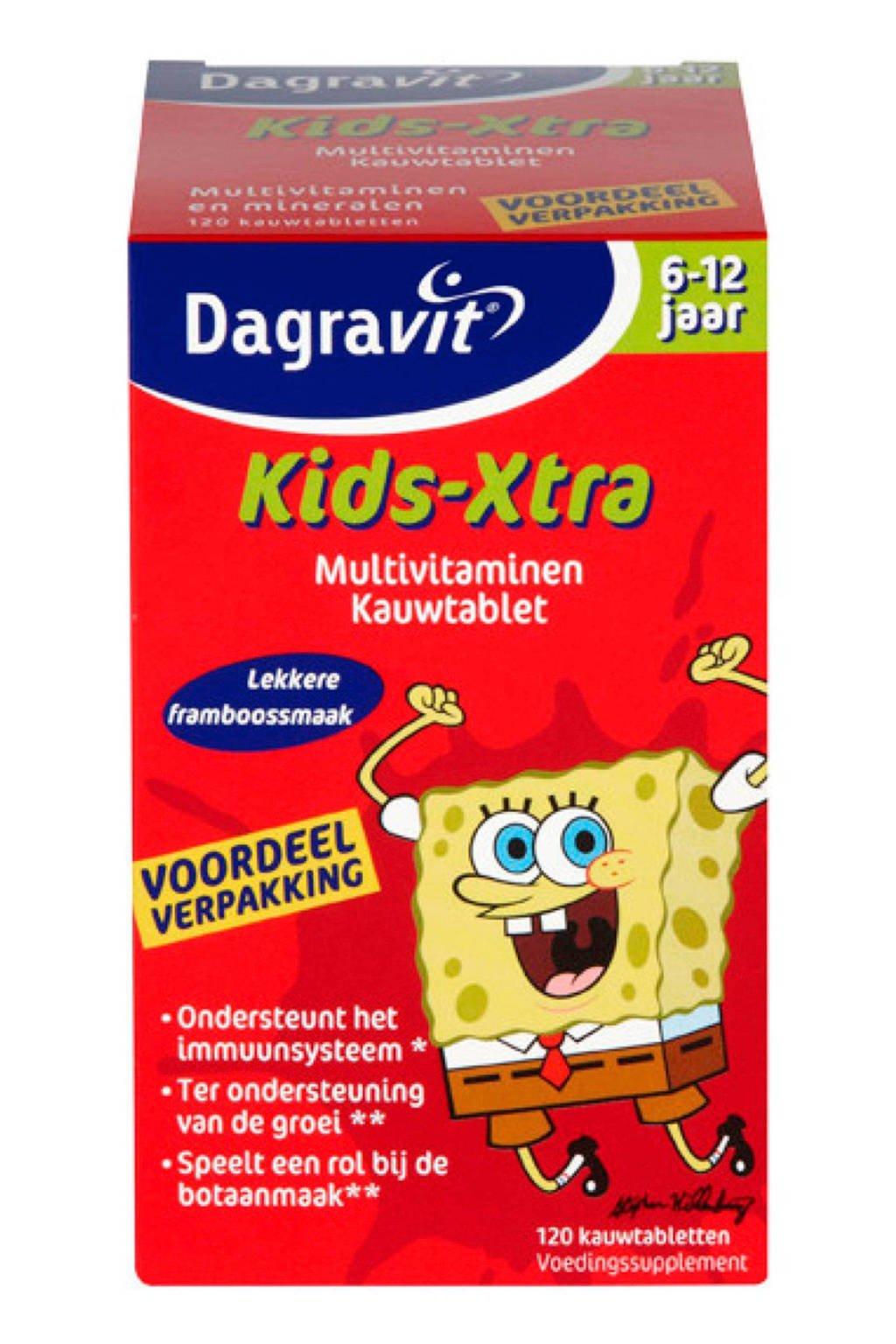 Dagravit Vitamine tabletten Kids-Xtra - 120 tabletten