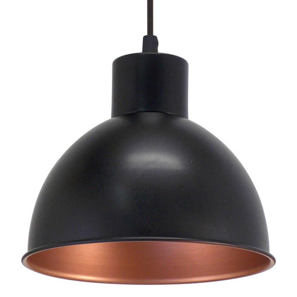Eglo hanglamp, Zwart/koper