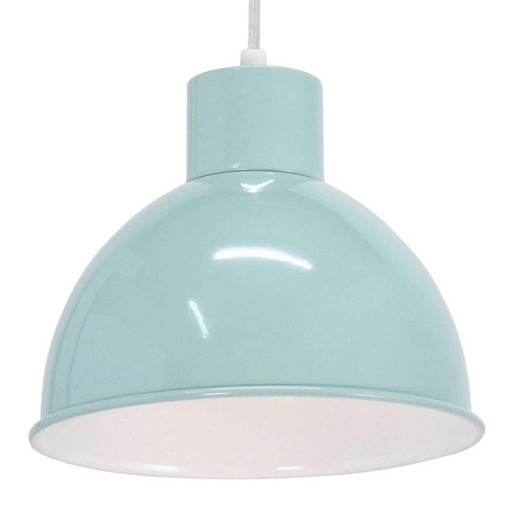 Eglo hanglamp, Mintgroen/wit