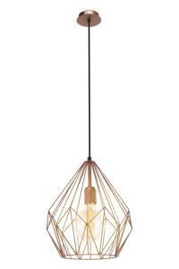 EGLO hanglamp Carlton, Koper