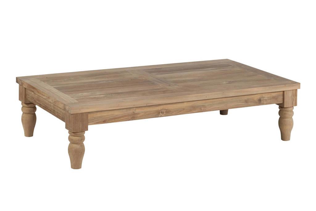 Exotan salontafel Kawan XL (120x70 cm), Bruin