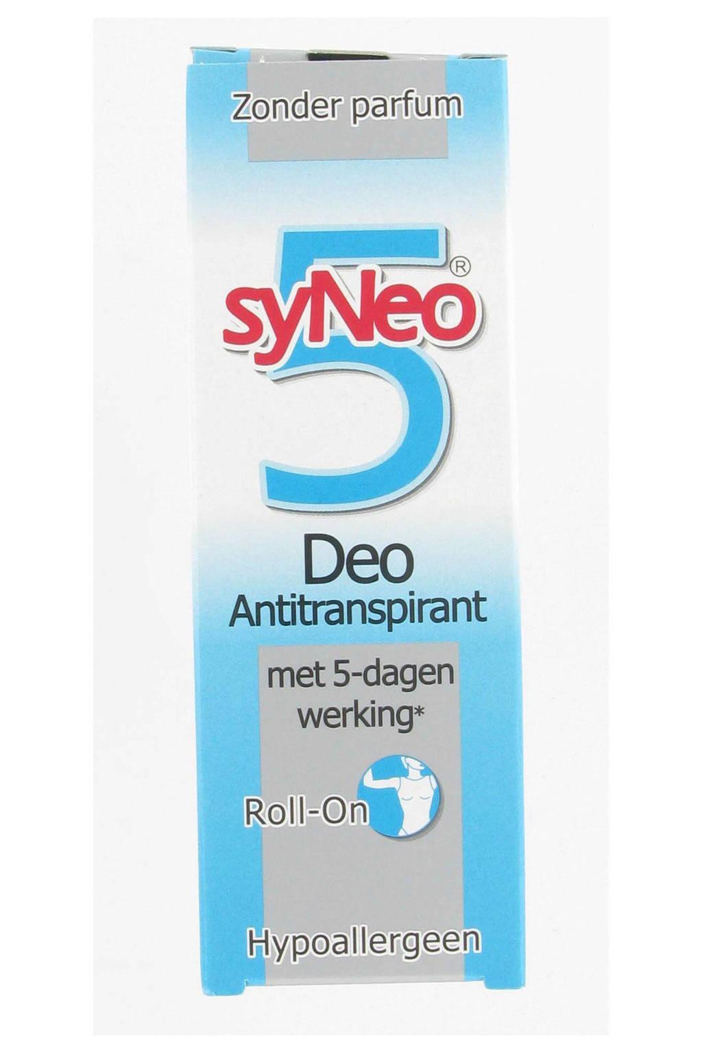 syNeo Deoroller Antitransparant - 50 ml