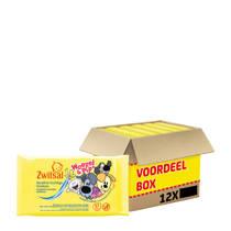 Zwitsal Woezel & Pip  Sensitive vochtige doekjes - 12x57 stuks - baby