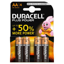 Duracell  Plus Power AA alkalinebatterijen 4-pack