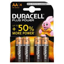 Plus Power AA alkalinebatterijen 4-pack
