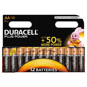 Plus Power AA alkalinebatterijen 12-pack