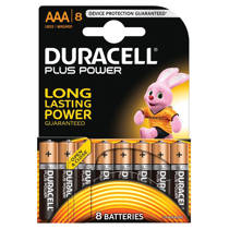 Duracell  Plus Power AAA alkalinebatterijen 8-pack