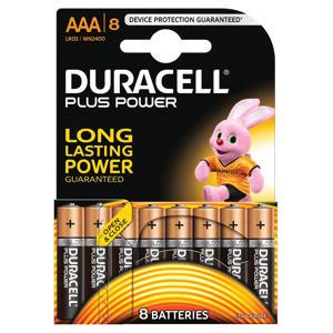Plus Power AAA alkalinebatterijen 8-pack