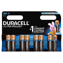 Ultra Power AA alkalinebatterijen 8-pack