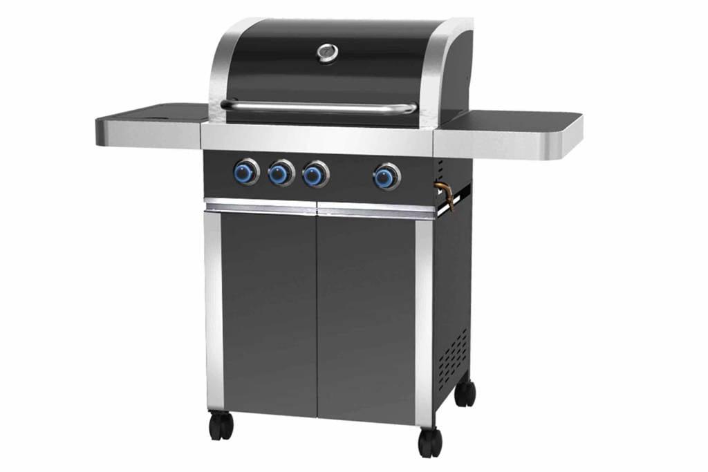 Patton Prominent 3+ gasbarbecue, Nova Black