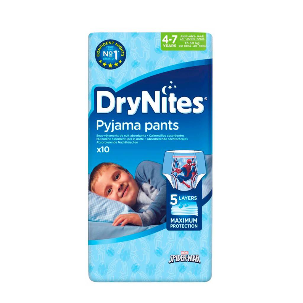Huggies DryNites boy 4-7 jaar (maat M), M: 4-7 jaar