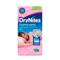 Huggies DryNites girl 4-7 jaar (maat M), M: 4-7 jaar