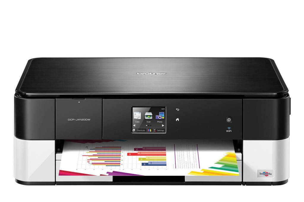 Brother DCP-J4120DW all-in-one printer, Zwart