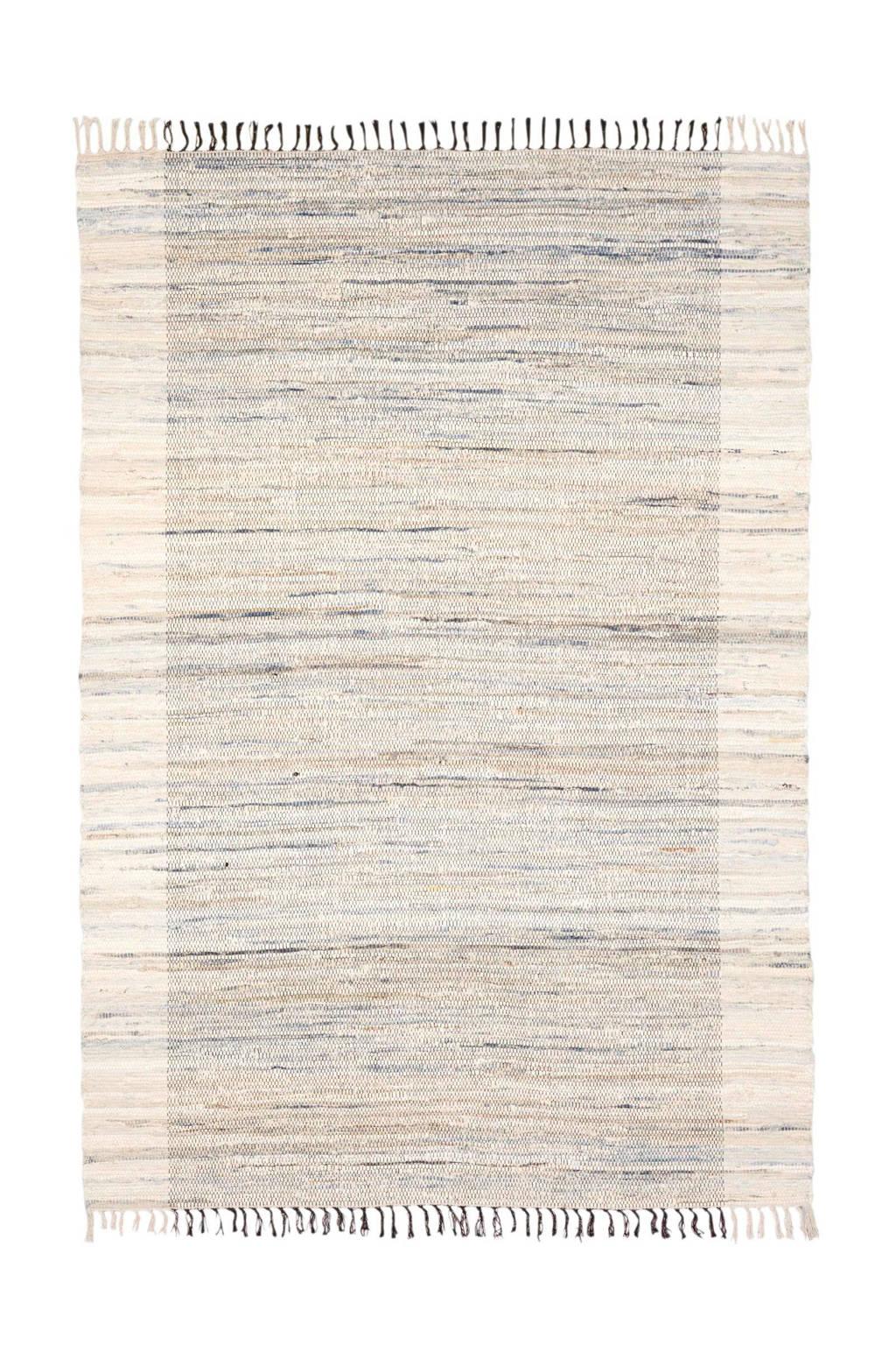 whkmp's own vloerkleed  (230x160 cm), Grijs/beige