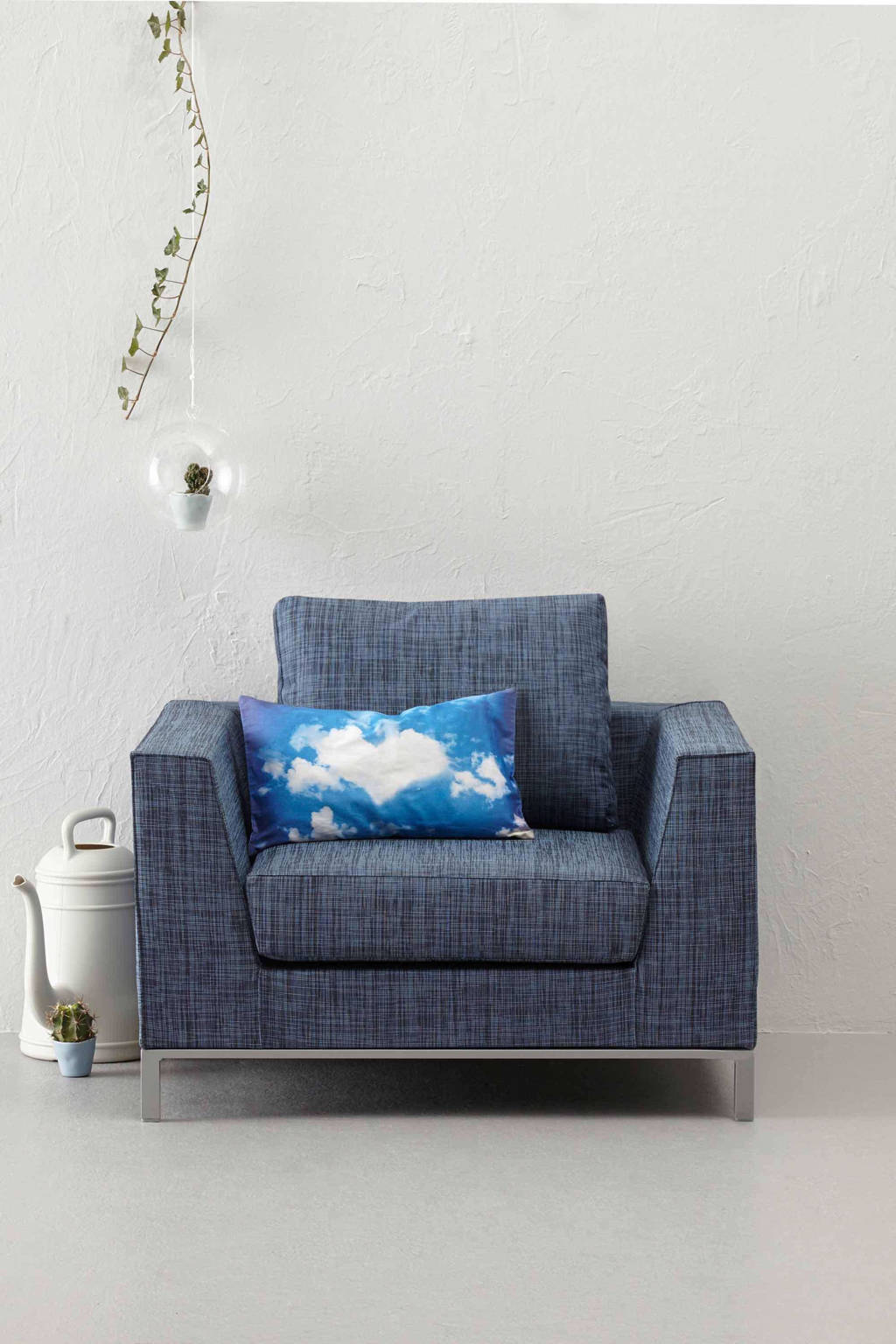 Exotan all weather fauteuil Casablanca, Jeans blauw