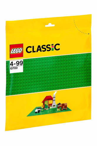 Classic groene bouwplaat 10700