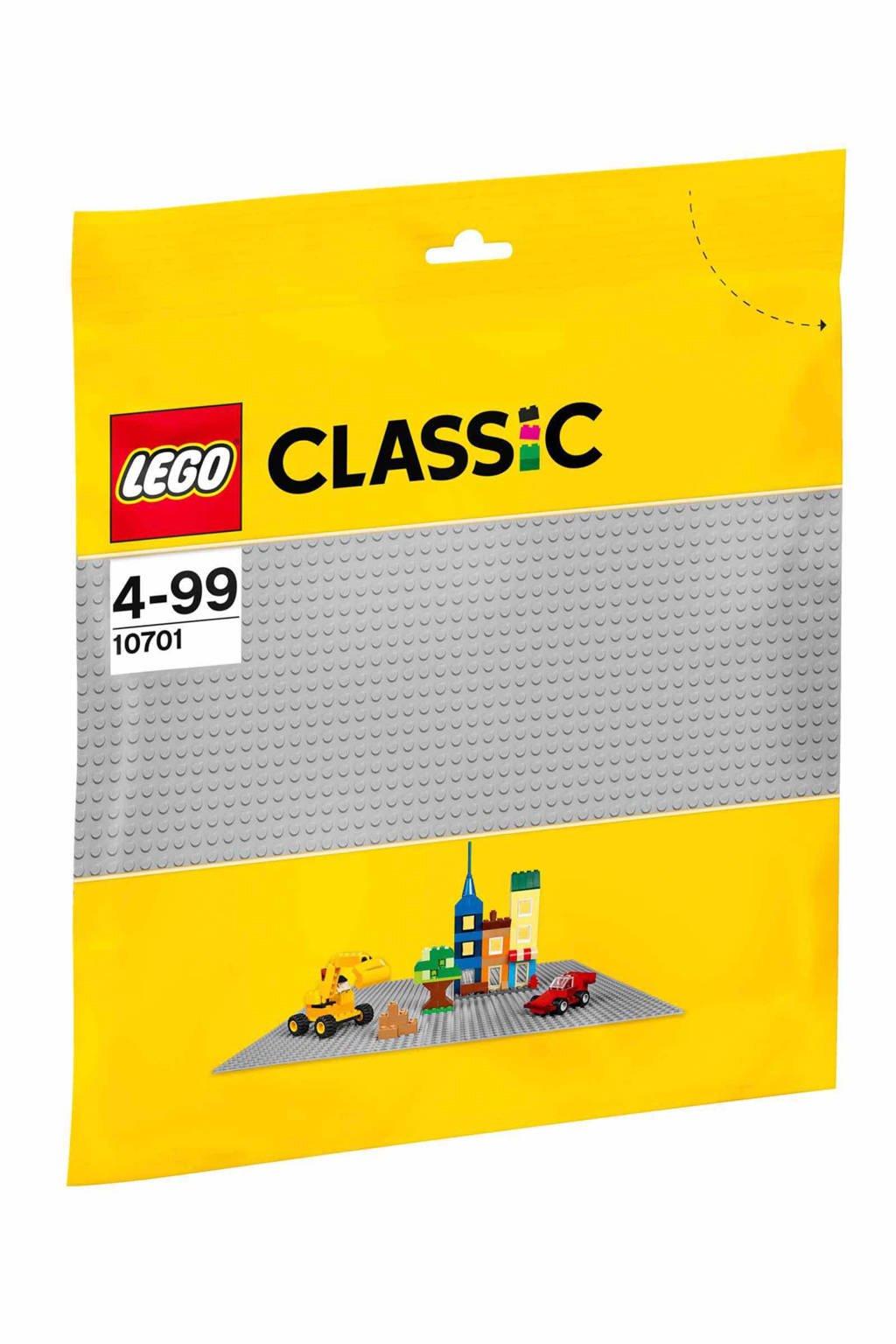 LEGO Classic  grijze bouwplaat