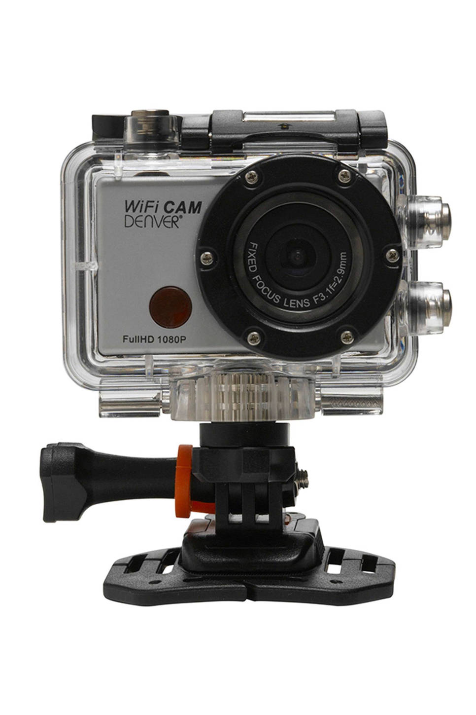 Denver AC-5000W action camera, Zilver