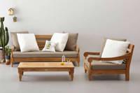 Exotan loungeset Kawan XL, Bruin