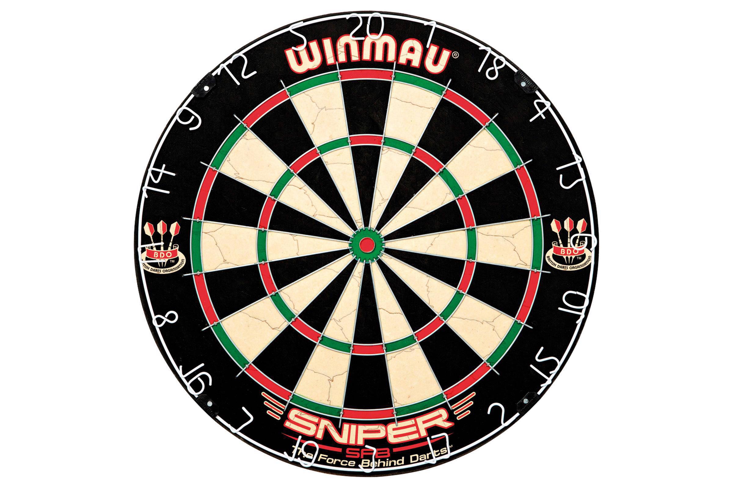 Dartbord In Kast : Winmau sniper dartbord set wehkamp