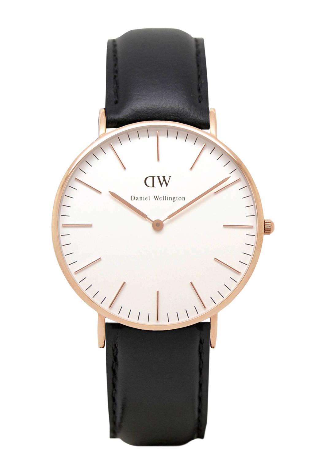 Daniel Wellington Classic Sheffield horloge, Rose goud