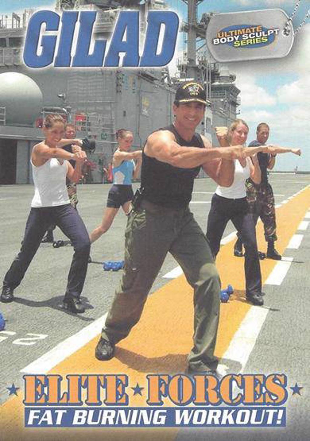 Gilad fitnessworkout - Elite forces (DVD)
